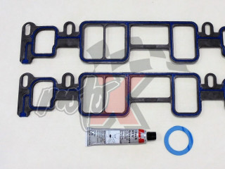 Intake Manifold Gasket set for Mercruiser 4.3L/LX/LH/LXH 262 CID Gen II V6 Vortec 1996 & UP # OEM 27-824326002, 27-8243261