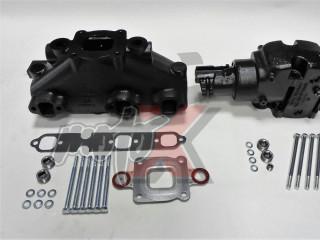 Mercruiser V6-4.3L Dry Joint Išmetimo kolektorius + alkūnė 7°, k-tas 864612T01 + 864309T01
