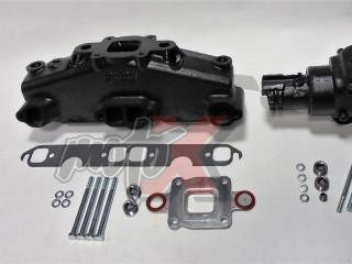 Mercruiser V8-5.0, 5.7, 6.2L Dry Joint Išmetimo kolektorius + alkūnė 7°, k-tas 865735A03 + 864309T01