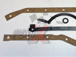 Oil Pan Gasket Set For OMC 2.5 / 3.0L  153 / 181 CID  4 cyl. # OEM 393061, 3923440, 3921473