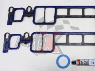 Intake Manifold Gasket set for OMC 5.0/5.7L 305/350 CID V8 Vortec, 1996 & UP # OEM 3857662