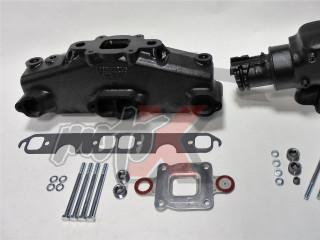Mercruiser V8-5.0, 5.7, 6.2L Dry Joint Išmetimo kolektorius + alkūnė 14°, k-tas 865735A03 + 864591T02