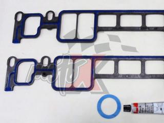Intake Manifold Gasket set for Mercruiser 5.0/5.7L/LX 305/350 CID V8 Vortec, 1996 & UP # OEM 27-807473A1